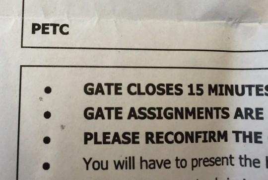 Pet ticket CU