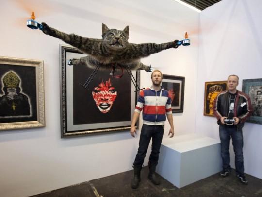 Orvillecopter with Bart Jensen and Arjen Beltman