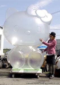 Hello Kitty.sculpture artist Sebastian Masuda